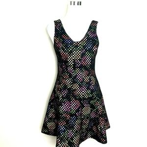 Trina Turk 4 Renita Dress Multi-Color Sleeveless